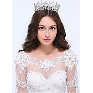 Women's Sterling Silver Alloy Headpiece - Wedding Special Occasion Casual Tiaras 1 Piece