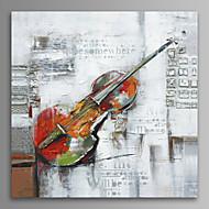 Musica Print Canvas Un pannello Pronto da appendere , Quadrato