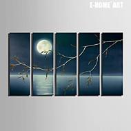Krajina Na plátně Pět panelů Připraveno k Pověste , Vertikální