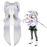 36inch longo luz roxa O asterisco guerra anime 2ponytails cosplay perucas cs-268b