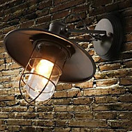 American Country Personality Contracted Style Warehouse Cage Wall Lamp