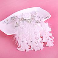 成人用 羽毛 かぶと-結婚式 / パーティー ヘアクリップ 1個
