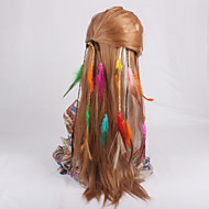 6 pieces per Pack Colorful Easy Clip Hair Extension Braids