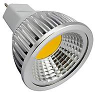 7W GU5.3(MR16) Lâmpadas de Foco de LED MR16 1 COB 550LM lm Branco Quente / Branco Frio Decorativa DC 12 V 1 pç
