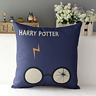 "43cm*43cm 17""*17"" Harry Potter Cotton / Linen Cotton&linen Pillow Cover / Throw Pillow With No Insert"