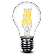 1 pcs #(Shenmeile) E26/E27 8W 8 COB 800 LM Warm White A60(A19) edison Vintage LED Filament Bulbs AC 220-240 V