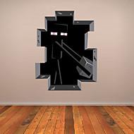 Cartoni animati / 3D Adesivi murali Adesivi aereo da parete Adesivi decorativi da parete,PVC Materiale Rimovibile Decorazioni per la casa