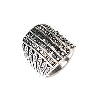 GyűrűkDivat Parti Ékszerek Arannyal bevont Női Vallomás gyűrűk 1db,Egy méret Aranyozott