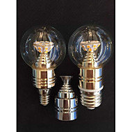 5W E14 / E26/E27 Luzes de LED em Vela A50 25SMD SMD 2835 500 LM lm Branco Quente DecorativaAC 100-240 / AC 110-130 / AC 85-265 / AC