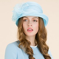 Women's Organza Headpiece - Wedding / Special Occasion / Casual / Outdoor Hats 1 Piece