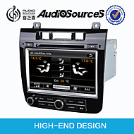 8Inch 2 Din Car Dvd Player For Touareg Built-In CANBUS With SWC IPAS OPS retain original car function