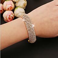 Women's Tennis Bracelet Gold / Silver Rhinestone