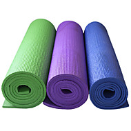 PVC Mats Yoga 173cm*61cm 6mm Appiccicoso / Eco-friendly / Impermeabile / Asciugatura rapida / Inodore 6 Blu / Verde / Viola scuro LEFAN