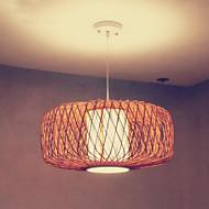 Vedhæng Lys LED Vintage / Rustik Stue / Soveværelse / Spisestue / Læseværelse/Kontor Træ/bambus