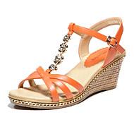 aokang® dámské koženkové sandály - 132823887