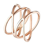 Women's Stainless Steel Ring Non Stone Stainless Steel