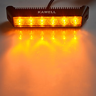 "kawell® 18w 7.5 ""3000K 1200lm 60-Grad-gelbe LED Flutlichtstrahl-Lichtleiste"