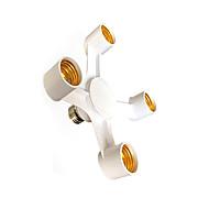 zweihnder 4 em 1 e27 e27 levou a tomada lâmpadas titular adaptador splitter lâmpada para o estúdio de fotografia