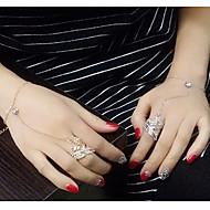 Ring-Armbänder 1 Stück,Goldfarben / Silber Armbänder Aleación Schmuck Damen