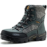 Men's Shoes Outdoor / Office & Career / Athletic / Casual Leather Boots Blue