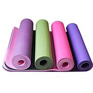 TPE Mats Yoga 183*61*0.66 Appiccicoso / Eco-friendly / Asciugatura rapida / Inodore 6 Rosso / Blu / Verde / Viola scuro LEFAN