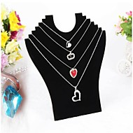 Black Velvet Necklace Pendant Display 23*24*7cm