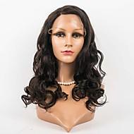 20inch täynnä pitsiä peruukit 100% hiuksista täynnä pitsiä aaltoileva tyyli hiuksista intialainen neitsyt peruukit naisille
