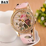 Women's Bohemia Diamond Flowers Quartz Analog Necklace Watch(Assorted Colors) Cool Watches Unique Watches