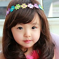 Korea Boutique Children's Jewelry Colorful Flowers Hair Band  2