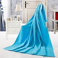 Yuxin®Plain Weave Cotton Towels Grid  Cotton Air Conditioning Quilt
