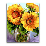 IARTS®Realistic Sunglower Handmade Oil Painting in Whosale Price Floral Batanical Style