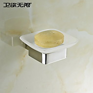 """Soap Dish Stainless Steel Wall Mounted 105 x 120 x 45mm (4.13 x 4.74 x 1.77"""") Stainless Steel Contemporary"""