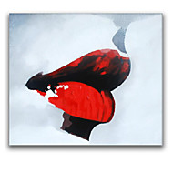 IARTS®Sexy Red Lips Sexy Women Wall Art Fashion Oil Painting