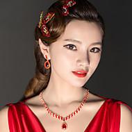 Women's Rhinestone / Alloy Headpiece - Wedding Hair Pin 3 Pieces