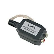 auto sort shell linje ud højttaler niveau til 2 rca input audio impedans konverter