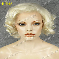 vendita calda della parrucca del merletto popolare mano la parrucca anteriore del merletto legata in vendita emma parrucche la migliore