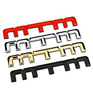 MTM baari sinkki metalliseos kromi metalli-auton muotoilu tunnus rintanappi 3d tarra siirtokuva ulkoa vaihdettaessa logo