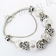 Z&X®Fashion Personality Vintage Beads Alloy Bracelet Bangles Daily / Casual 1pc Christmas Gifts