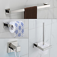 Bathroom Accessory Set , Contemporary Stainless Steel Wall Mounted