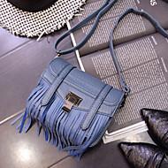 Women PU Baguette Shoulder Bag / Tote / Satchel / Coin Purse / Storage Bag - Blue / Red / Gray / Black
