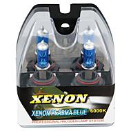 2 9006 HB4 halógenas 6000k blanco de carretera bajo los faros de xenón bombillas de la lámpara