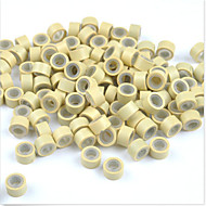 Silicone Lined MICRO Rings Link Crimp Beads I/U/Flat tip Hair Extensions 1000pcs