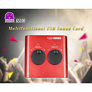 XOX® KS100 Multifunctional USB Sound Card for MP3/iPad/PC/Mac/Laptop