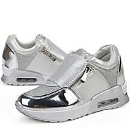Women's Fashion Leisure Sport Shoes Black/Silver