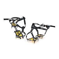 SUOERGE Snow Ice Climbing/Mountaineering Shoes Crampons - Black (Pair)