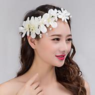 Femme Dentelle / Tulle Casque-Mariage / Occasion spéciale Serre-tête / Fleurs / Couronnes 1 Pièce