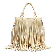Women PU Baguette Tote - Beige / Brown / Black / Khaki
