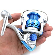 CS1000 CS2000 8BB Ball Bearings 5.2:1 Left/Right Interchangeable Collapsible Handle Fishing Spinning Reel