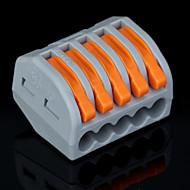 50st pct-215 400v / 4kV / 32a universele connector 0.08-2.5mm² single / 0.08-4.0mm² multi-wire 9-10mm striplengte
