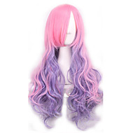 New Arrival Wigs Pink and Purple Mixed Color Long Cosplay Wigs